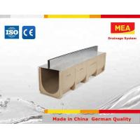 Buy cheap MEA TS1000 -3000 Polymer Concrete Channel ,slot u channel from wholesalers