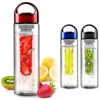 Buy cheap 600ml Exquisite Fruit Bottles, BPA FREE with FIlter Tube from wholesalers