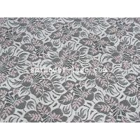 Buy cheap Pink / White Cotton Nylon Lace Fabric Or Customization Color For Apparel SYD-0182 from wholesalers