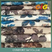 Buy cheap 100% Polyester Printing Sofa Upholstery Fabric Suede Sofa Fabric Jacquard Sofa Fabric product