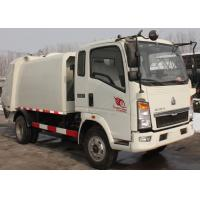 Buy cheap Waste Disposal Vehicles Garbage Collection Truck , Compressed Refuse Compactor Truck from wholesalers