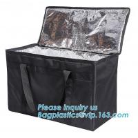 Buy cheap 4mm Aluminium Foil Insulation PEVA 420D Polyester Cooler Bag,thermal insulation 600D polyester cooler tote bag bagease from wholesalers