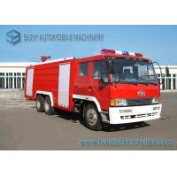 Buy cheap 6X4 12000L Water Fire Fighting Trucks 360hp FAW Chassis Double Row Cabin from wholesalers