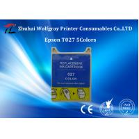 Buy cheap Zhuhai Compatible  Ink cartridge for Epson T027 5colors at the best price from wholesalers
