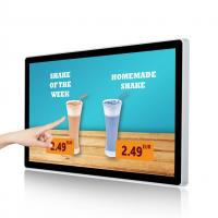 Buy cheap 7'' - 65'' Interactive Wall Mounted Digital Signage Kiosk LCD TV Advertising Display from wholesalers