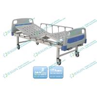 Buy cheap Two Functions Manual Hospital adjustable bed for patient with Drainage Hook from wholesalers