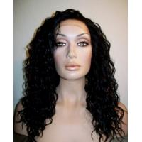 Buy cheap Remy hair Deep Wave Free Tangle Full Lace Wigs Human Hair 10- 30 Inch from wholesalers