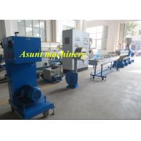 Buy cheap PET Bottle Flakes Pelletizing Extrusion Machine 100-500kg/H Capacity Single Screw from wholesalers