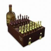 China 2-inch Chess Set, Made of MDF Wooden Box on sale