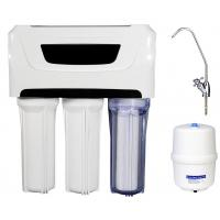 Buy cheap 3.0 / 4G Plastic Tank Reverse Osmosis Water Filtration System Whole House 110V Pump from wholesalers