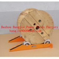 Buy cheap Cable drum jacks/rail type cable drum stands: from wholesalers