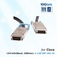Buy cheap Cisco  Infiniband CX4 Cable CAB-INF-28G-10,   Cisco CX4 Cable 10M from wholesalers