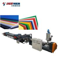 Buy cheap Plastic Corrugated Box PP Hollow Sheet Extrusion Line High Efficiency Durable from wholesalers