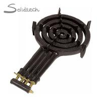 Buy cheap Four Ring LPG Gas Burner Cast Iron 4 Pipes Cooker Outdoor Camping Wok Stove from wholesalers
