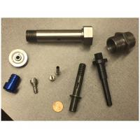 Buy cheap Customized Metal Tube Precision Cnc Machined Components Fiber Laser Cutting Materials from wholesalers