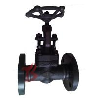 Buy cheap A105N Industrial Globe Valve 1 Inch , Full Port Welded Flanged Globe Valve product