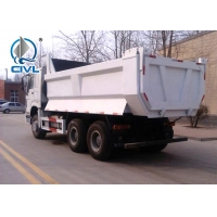 Buy cheap Sinotruk HOWO7 Red 336 Hp New Diesel Fuel Type Dump Truck With Q345 Steel Heavy Tipper from wholesalers