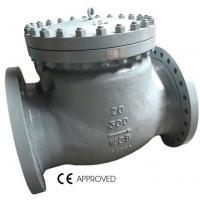 Buy cheap High Temperature Flanged Swing Check Valve BS1868 API6D Standard For Offshore Oil from wholesalers