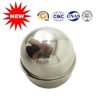 Buy cheap Spray Painted Metal Ball Float , Fluid Level Control Floats With Polished Surface from wholesalers