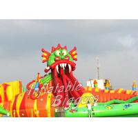 Buy cheap Giant Kids Inflatable Water Park For Hotel Swimming Pool , Beach Party Inflatables from wholesalers