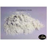 Buy cheap Clomiphene Citrate White Powder CAS 50-41-9 Anti - Estrogen Steroid 99% Purity from wholesalers