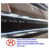 Buy cheap ASTM A106 GR.B steel pipe from wholesalers