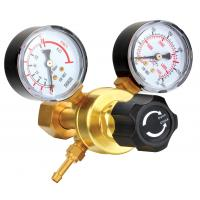 Buy cheap Small Compressed Gas Pressure Regulator With Gauge For Manufactory / Construction product