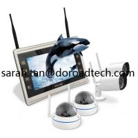 Buy cheap 1080P High Definition 4CH Home Surveillance WIFI Wireless IP Video Cameras NVR System from wholesalers