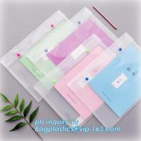 Buy cheap PP plastic clear file folder manufacturer, file document wallet folder with custom design, PP Suspension Hanging File Fo from wholesalers