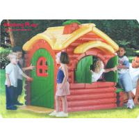 Buy cheap Fairy Tale Playground Nursery Active Play Equipment Indoor  ,  LLDPE Forest Lodge Playhouse from wholesalers