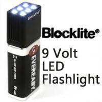 9V 3 Light Models Powerful Compact LED Flashlight Super Bright Mini Light Torch