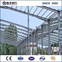 Buy cheap Low Cost Galvanized H Section Steel Frame Steel Building for Workshop Warehouse from wholesalers