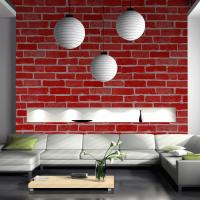 Buy cheap Eco-friendly fireproof cheap price brick/stone style PVC vinyl wall paper product