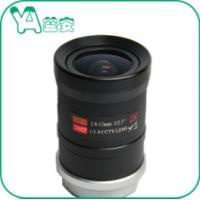 Infrared Ip Camera Lens CS Mount , Manual Zoom / Focus Wireless Camera Lens