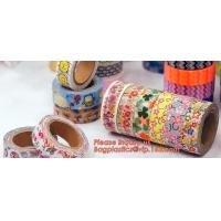 Buy cheap Colorful decorative masking washi paper tape custom printed DIY washi tape with logo,Supplies DIY Arts & Crafts Multi-co from wholesalers
