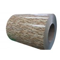 China Stone or Brick Printed Galvanized or Galvalume Steel Coils for Interior or Exterior Decoration and Panel on sale