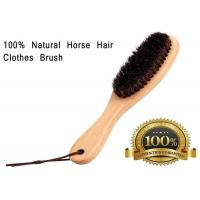 Buy cheap Soft Horse Hair Shoe Brush With Handle For Dust Pet Hair Static from wholesalers