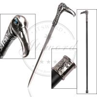 Buy cheap Vulture Head Custom Made Walking Canes With 440 Stainless Steel Blade from wholesalers