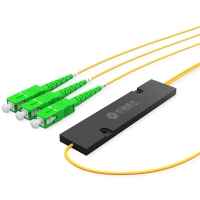 Buy cheap 1260NM 1650NM 1X2 1X64 FTTH Micro 1200 PLC Optical Splitter from wholesalers
