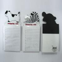 Buy cheap magnetic fridge notepad ,magnetic sticky pad ,magnetic notepad from wholesalers