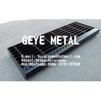 Buy cheap Welded Steel Bar Grating Stair Treads, Non-Slip Metal Grate Stair Treads from wholesalers