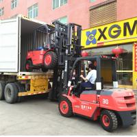 Buy cheap Flexible Body Forklift Diesel 3 Ton , 4 Wheel Forklift Truck For Food Industry from wholesalers