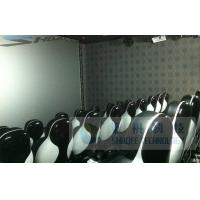 Buy cheap Pneumatic 6D Cinema Equipment With Silence Air Compressor / Motion Chair product