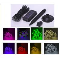 Buy cheap Holiday Festival Solar Christmas String Lights, Weatherproof 100 LED String Lights from wholesalers
