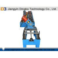Buy cheap Galvanized Sheet Metal Roller Purlin Rolling Machine With Chain Or Gear Box Driven System from wholesalers