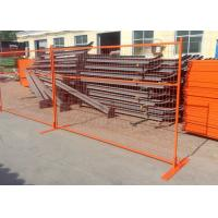 Buy cheap Welded Canadian Temporary Fence Panels , Metal Construction Fence Panels from wholesalers