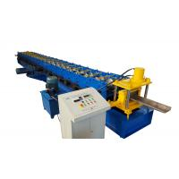 Buy cheap High Precise Roll Forming Machinery Shutter Door Frame 17 Rows 45# rollers from wholesalers