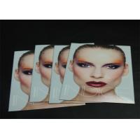 Buy cheap Glossy Paper Cosmetic Brochure Printing Service , Hardcover Photo Book Printing from wholesalers