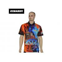 Buy cheap OEM Bulk New Design 100% Polyester Cheap Printed Sports Polo Shirts from wholesalers