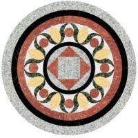 Buy cheap Cheap Natural Water Jet Stone Medallion Inlays Tile from wholesalers